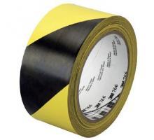 Лента для разметки 3М™ 766i, черно-желтая
